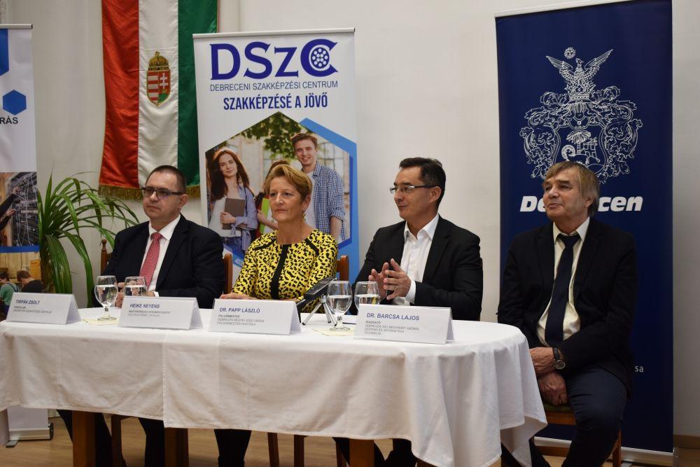 Nyelvvizsgaközpont lesz a Debreceni SZC Mechwart András Gépipari és Informatikai Technikum című hír borítóképe