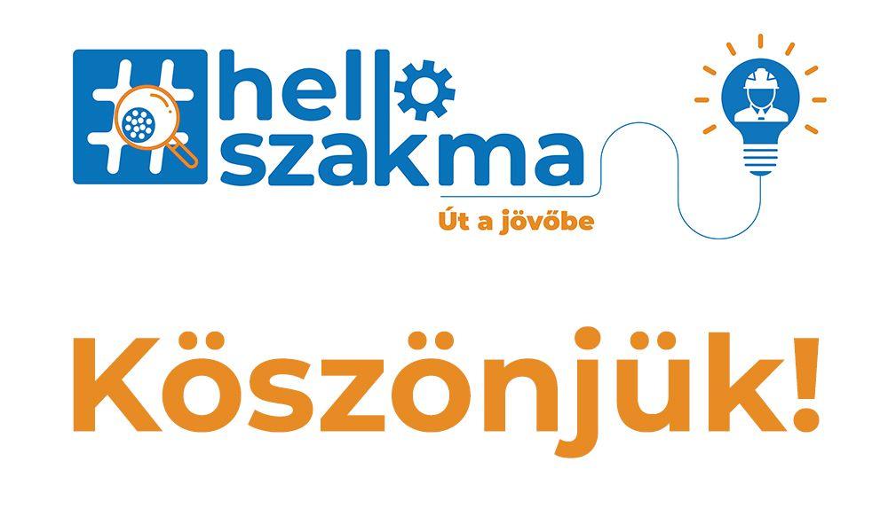 Véget ért a Hello szakma! - Út a jövőbe rendezvényünk