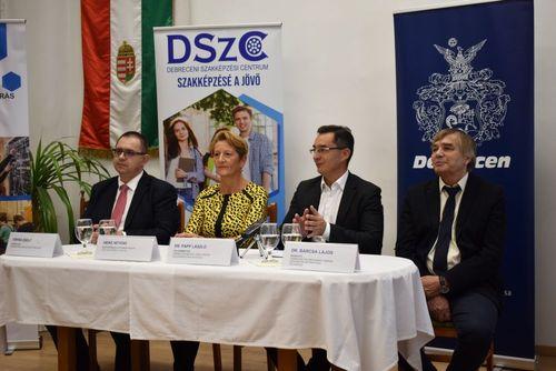 Nyelvvizsgaközpont lesz a Debreceni SZC Mechwart András Gépipari és Informatikai Technikum